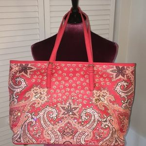 Handbags - Sparkly Zippered Tote Bag